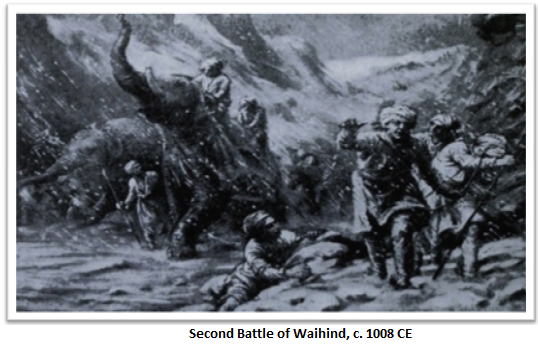 The rise of Islam, second war of waihind