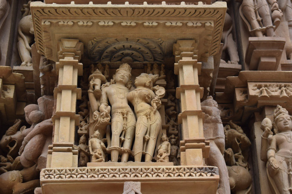 Khajuraho's Temple, Sculptures