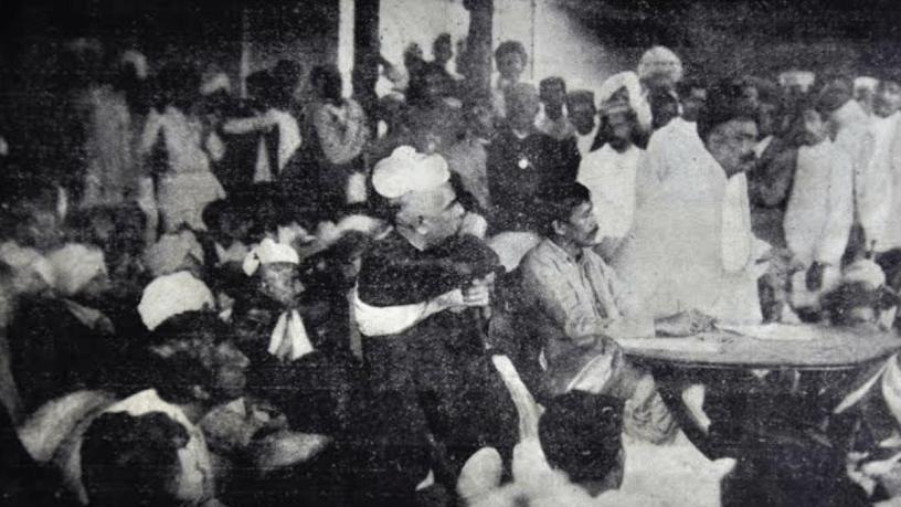 Surat Split Congress Session at Surat 1907