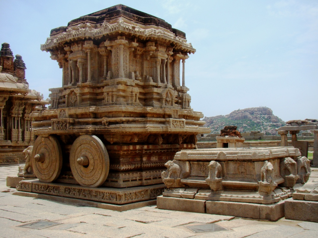 Ratha Temple. Hampi Temple Architecture