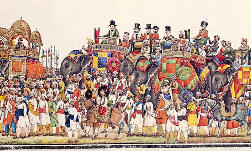 Education Panorama of Durbar Procession