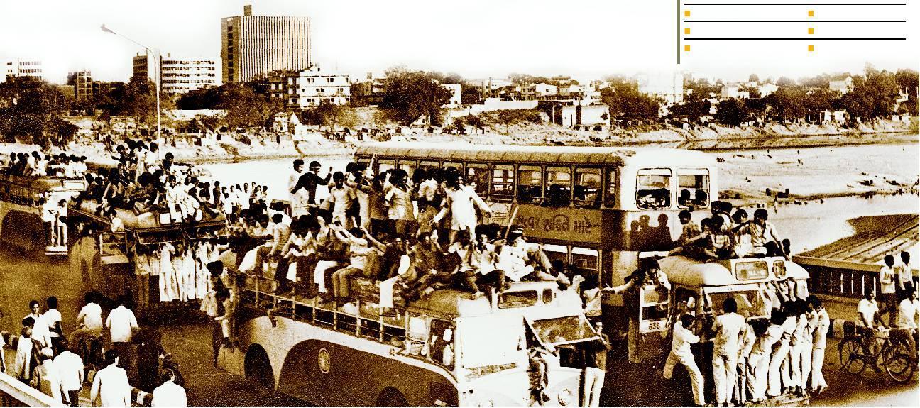 Gujarat's Nav Nirman Movement