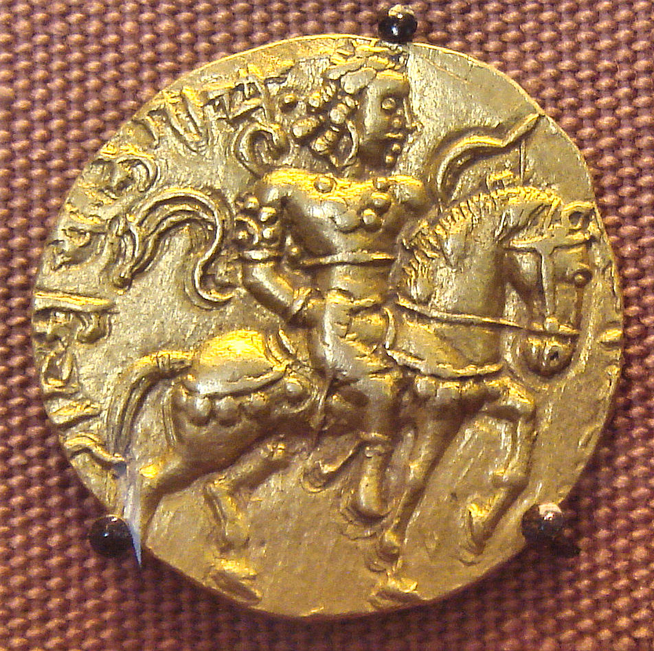Chandragupta II on Horse