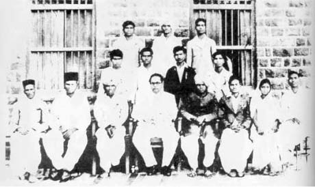 Dr Ambedkar with Independent labour party orgainizers