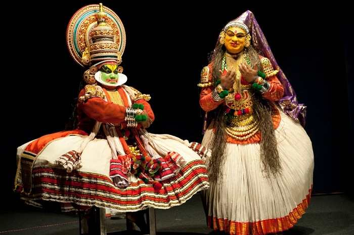 Kathakali, dances in India