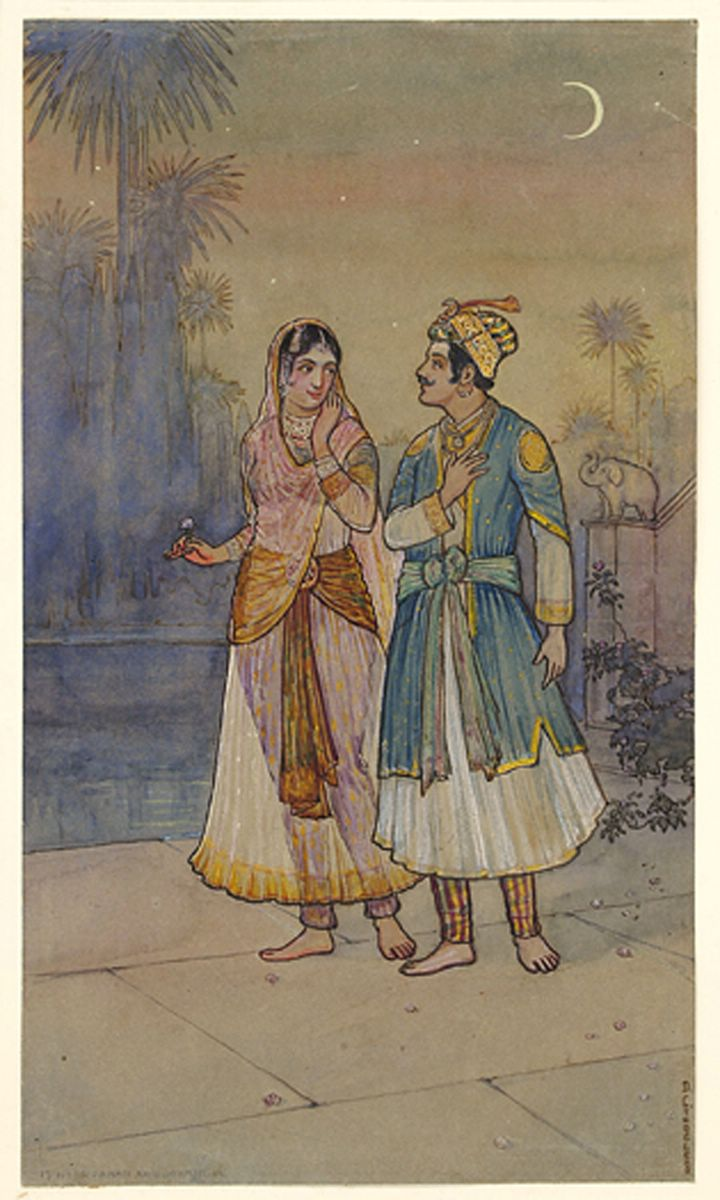 Noor Jahan and Jahangir