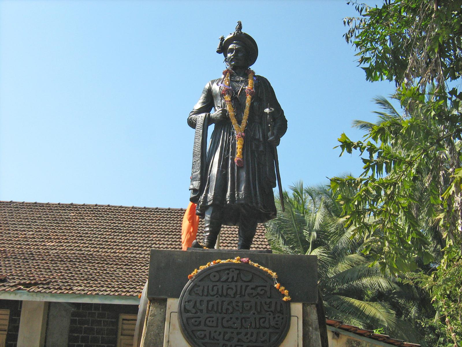 Statue of Peshwa balaji Vishwanath