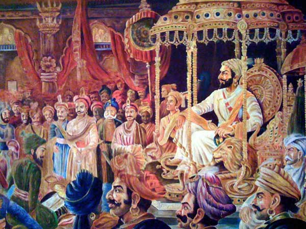 A Maratha Court