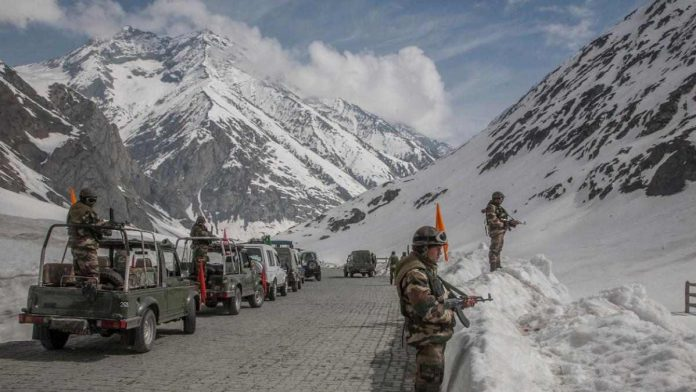 These pacts can be seen from the view of Chinese agressive policy over LAC in Ladakh region. Indian soliders in Ladakh region (Representional Image)