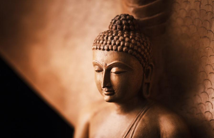 Buddha in a meditation pose.