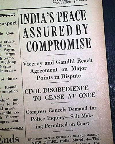 Gandhi Irwin pact
