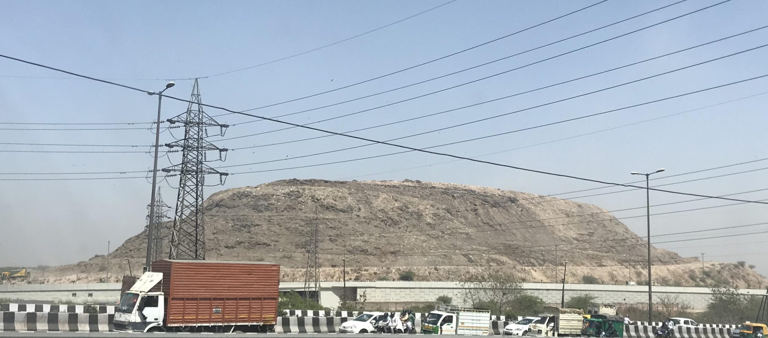 Landfill site in Delhi turning out to be in potential Mountain
