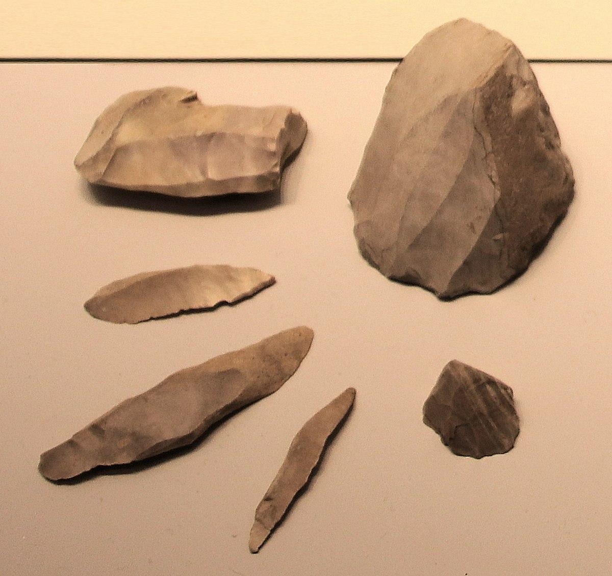 Microliths| Image Source: Wikipedia